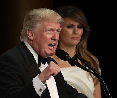 Donald Trump opowiedział w audycji o Melanii Trump