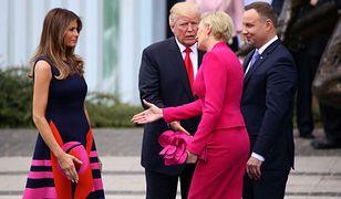Agata Kornhauser-Duda i Melania Trump