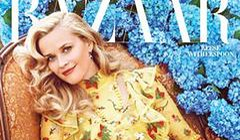 "Reese Witherspoon na okładce ""Harper's Bazaar"""