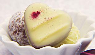 Białej czekoladzie trudno jest się oprzeć