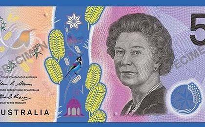 Australia wprowadza nowy wzór banknotów. Australijczycy oburzeni pięciodolarówką