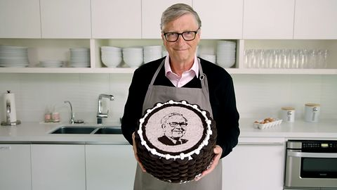 Bill Gates zaskoczył. Miliarder upiekł tort dla... miliardera