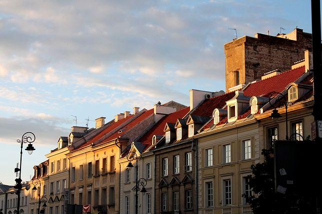 Fotostory: zachód słońca na Krakowskim Przedmieściu