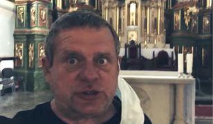 Kazik nagrywał ujęcia do klipu w różnych miejscach, m.in. w kościele