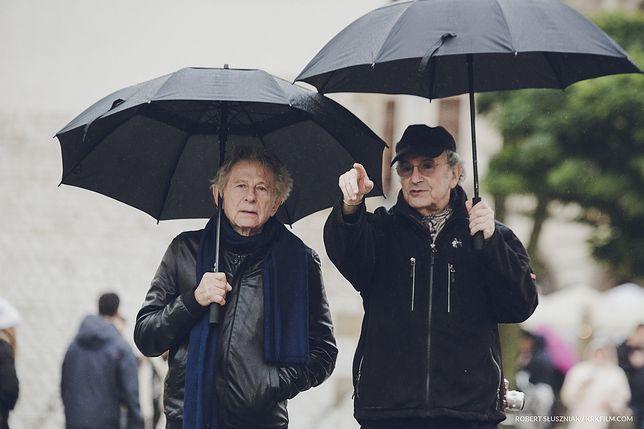 Roman Polański i Ryszard Horowitz (fot. Robert Sluszniak, www.spheresis.com)
