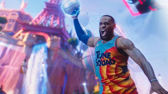 """LeBron James w filmie """"Kosmiczny mecz: Nowa era"""""""