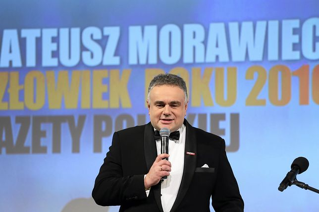 """Tomasz Sakiewicz, redaktor naczelny """"Gazety Polskiej""""."""