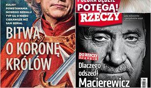 Polskie tygodniki wciąż żyją rekonstrukcją rządu