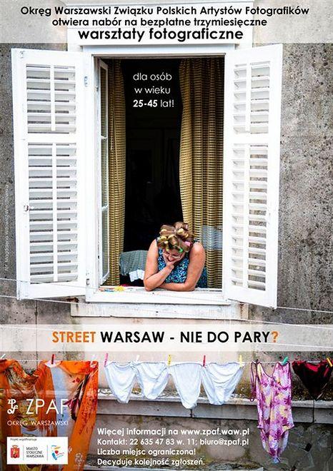 Za darmo: Warsztaty Fotograficzne Street Warsaw