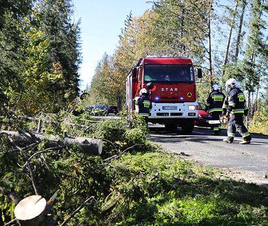 Wichury w Polsce. Dziesiątki tysięcy ludzi bez prądu