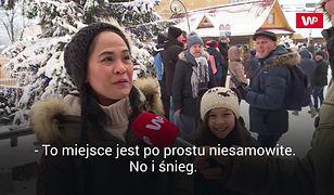 Obcokrajowcy zachwyceni Sylwestrem w Zakopanem