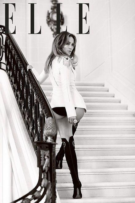 Piękna Jennifer Lopez na okładce