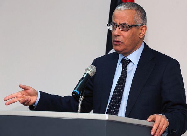 Premier Libii Ali Zeidan