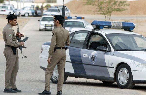 Funkcjonariusze sił bezpieczeństwa w Arabii Saudyjskiej