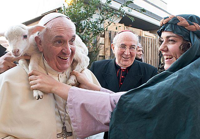 Papież Franciszek zaskoczył wszystkich - zdjęcia