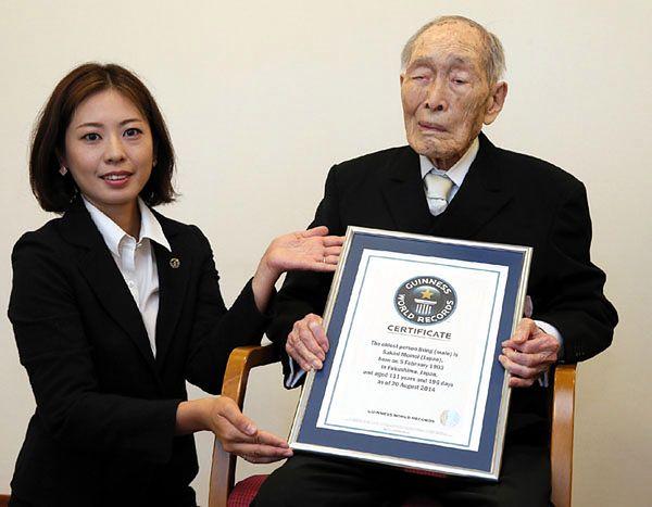 111-latek uznany za najstarszego mężczyznę na świecie
