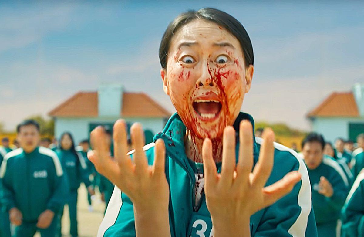 """""""Squid Game"""". Zagraniczny serial podbija serca widzów Netfliksa. Jednak krwawe show nie jest dla wszystkich"""