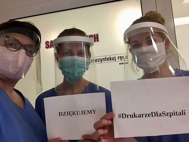 Koronawirus. Cała Polska drukuje maski dla lekarzy