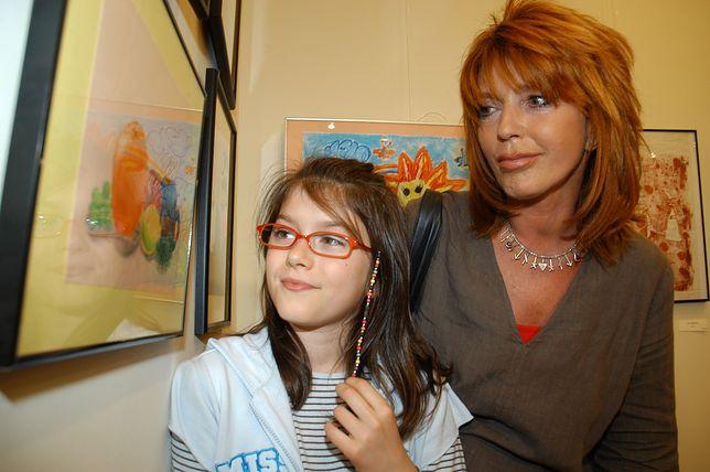 Ewa Sałacka z córką Matyldą