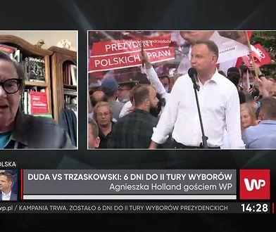"""Agnieszka Holland o ułaskawieniu pedofila i Polańskim. """"Tu nie ma symetrii"""""""