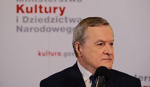 Piotr Gliński przegrał sprawę w sądzie z instytucją kultury