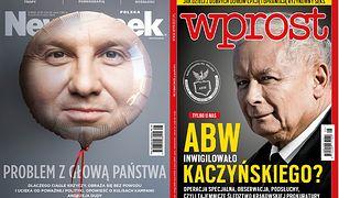 Twarz prezydenta Andrzeja Dudy na baloniku. Tygodniki pokazały okładki