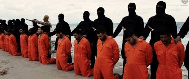Egzekucja 21 koptyjskich chrześcijan przez członków PI w Libii