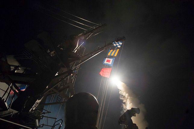 Pentagon: wystrzelono 59 pocisków Tomahawk. Są zdjęcia i nagrania wideo