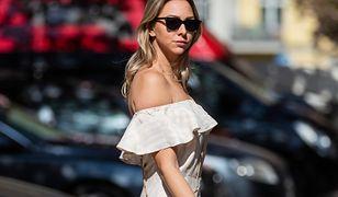 Lato 2020 - białe sukienki zawojują ulice