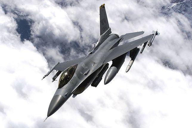 F-16 przypadkowo zrzucił bombę na Japonię