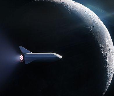 SpaceX zapowiada lot wokół Księżyca