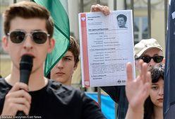 """Wszczęto śledztwo ws """"aktów politycznego zgonu"""". Młodzież Wszechpolska wystawiła je 11 prezydentom"""