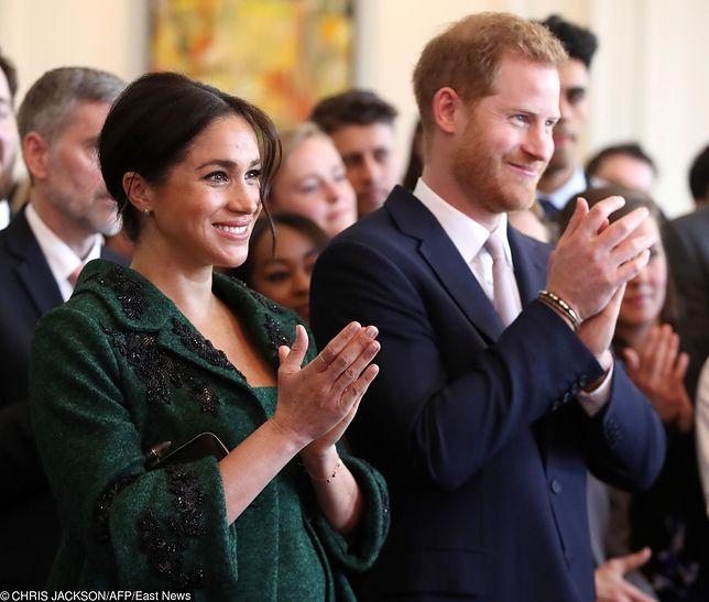 Dziecko Meghan i Harry'ego doczekało się królewskiego przywitania