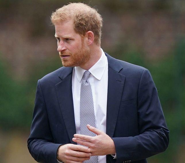 Książę Harry wygłosił mocną przemowę