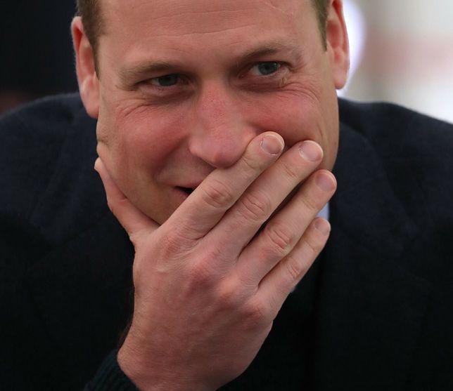 Książę William był rozbawiony muzycznym dziełem księżnej Kate.