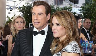 John Travolta z żoną i synem. Takiego zdjęcia dawno nie widzieliśmy