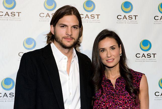 Na ślubie Ashtona Kutchera i Demi Moore bawiło się ponad 150 gości