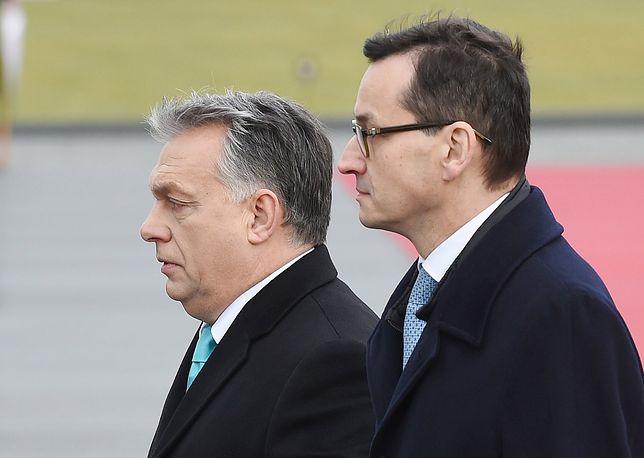 Morawiecki chce od Orbana jasnej deklaracji. I może mu się to udać