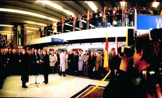 Warszawskie metro skończyło 22 lata. Pierwsze prace przy budowie rozpoczęto 90 lat temu [ZDJĘCIA]