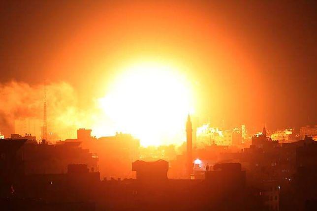 Wybuch w Strefie Gazy