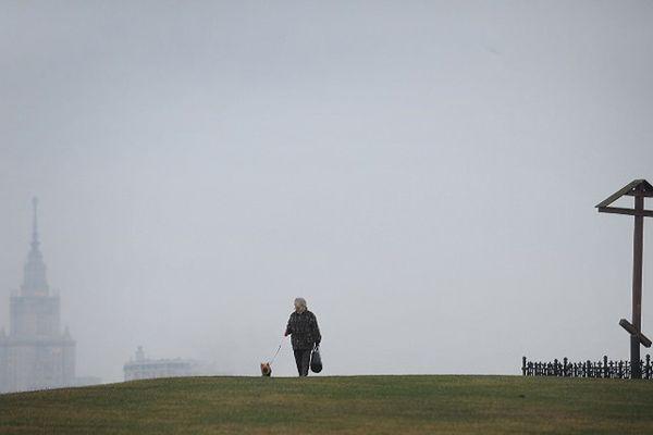 Silny smog nad Mińskiem