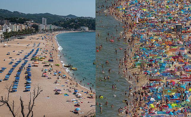 """Koronawirus w Polsce. Wakacje za granicą bezpieczniejsze? """"Luz na plaży, puste hotele"""""""