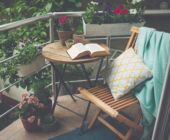 Polacy uwielbiają spędzać czas na tarasach i balkonach
