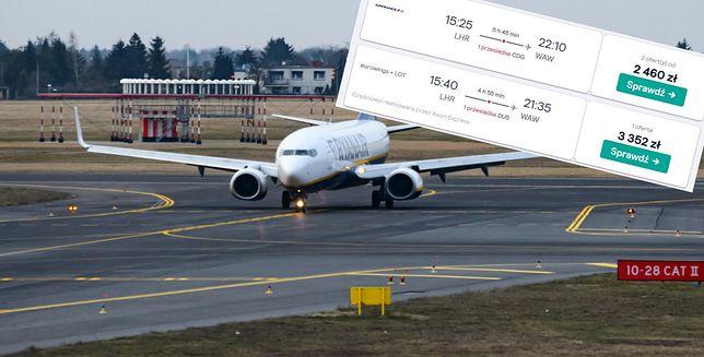 Zamknięte granice to spory problem. Drogie loty na ostatnią chwilę, niektóre kosztują już ponad 3 tys. zł