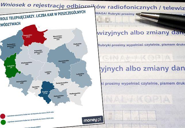 Abonament RTV może zaskoczyć. Poczta Polska i KRRiT złapały 9,5 tys. telepajęczarzy