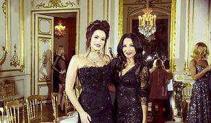 Sylwia Romaniuk i Justyna Steczkowska na Paris Fashion Week
