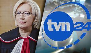 """Jest decyzja KRRiT w sprawie TVN24. Chodzi o """"nękanie"""" Julii Przyłębskiej"""