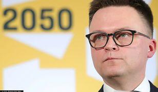 Szymon Hołownia postawił na swoim. Ważny krok Polski 2050