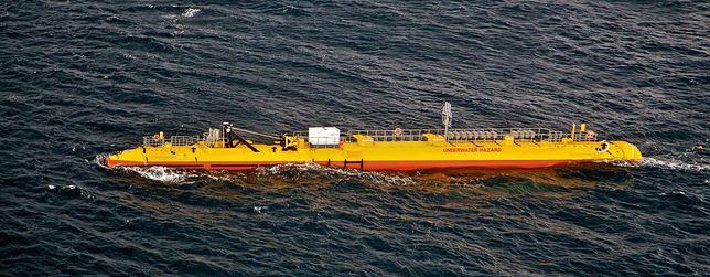63-metrowa maszyna zbiera ogromne ilości energii