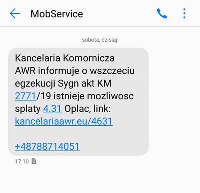 """Polska. Kolejna próba oszustwa SMS """"na kancelarię"""""""